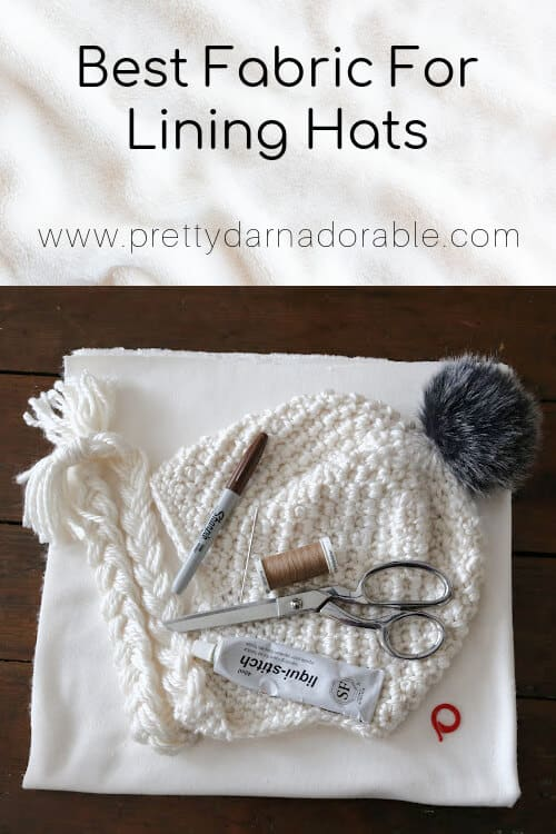 best fabric for lining hat