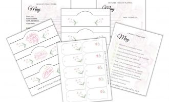 free printable crochet tags and labels