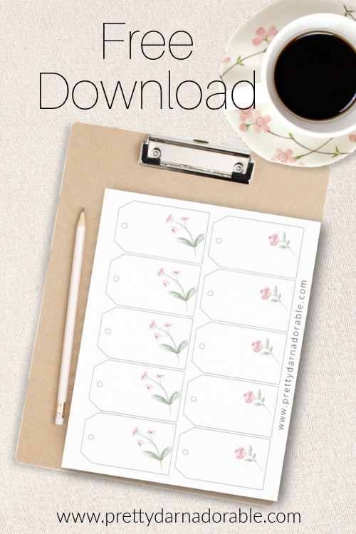 free crochet gift tag download