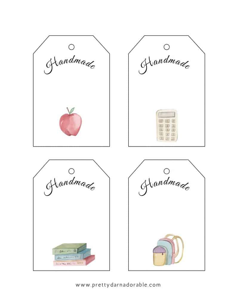 large gift tag