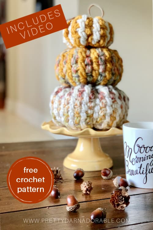 FREE FALL CROCHET PATTERNS WITH VIDEO TUTORIALS