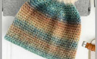 FREE CROCHET BEANIE PATTERN AND VIDEO
